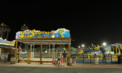 Sea Serpent Ride at 30th St.