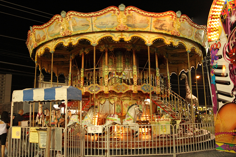 Double Decker Carousel at 30th St.