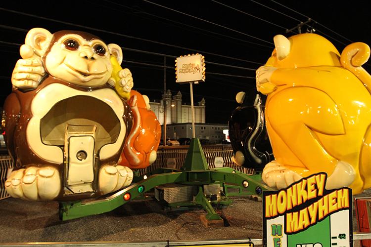 Monkey Mayhem at 30th St.
