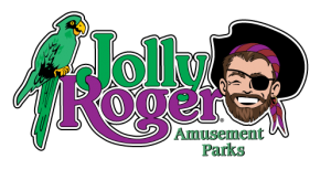 Jolly Roger Logo Amusement Parks Logo