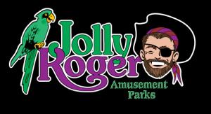 Jolly Roger Logo Amusement Parks Logo