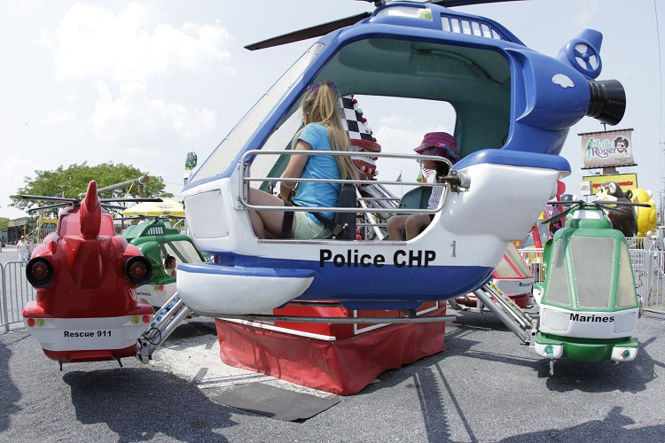 Helicopter Ride at 30th St.