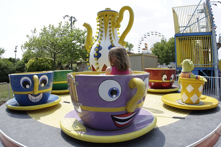 Tea Cup Ride at 30th St.