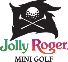 Jolly Roger Mini Golf Logo